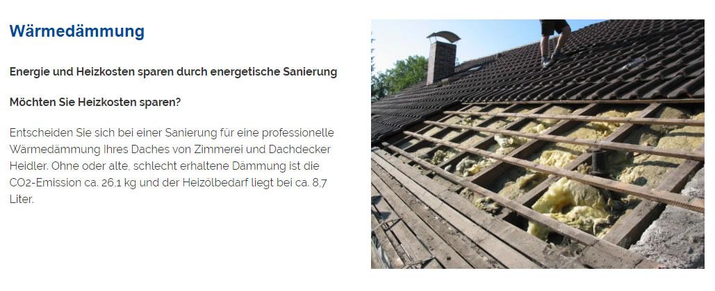 Wärmedaemmung, energetische Sanierungen in  Walheim