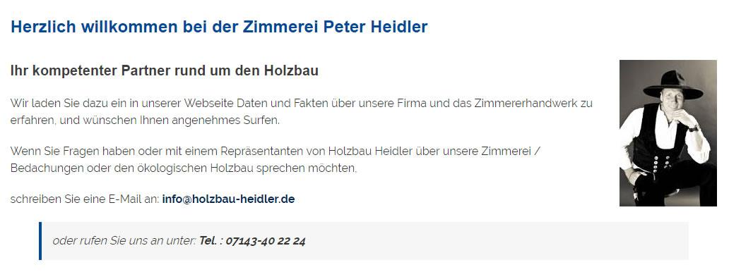 Holzbau, Zimmerei in Eberstadt - Heidler: Bedachungen, Carports, Altbausanierung, Dachausbau, Dachfenster, Dachsanierung, Wärmedämmung, Gutachter